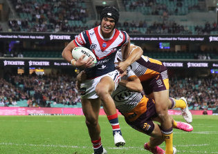 Joseph Suaalii's highly anticipated NRL debut was overshadowed by the Roosters' ill-discipline.