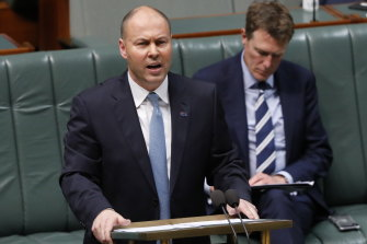 Josh Frydenberg hands down the 2020-21 budget which contained a one year extension of the low and middle income tax offset. The offset ends in 2021-22.