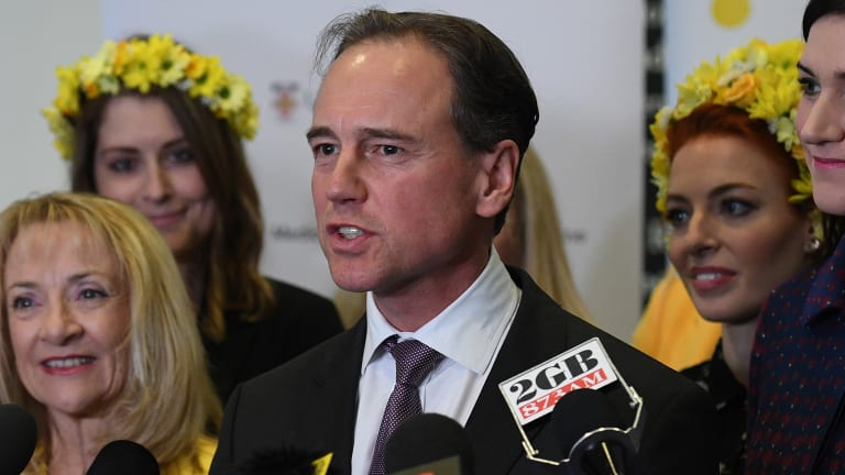 Federal Health Minister Greg Hunt has defended the My Health Record scheme.