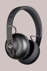 The Nuraphones have touch-sensitive panels on the sides.