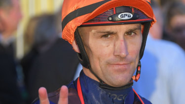 Jockey Tye Angland's spinal injury left him a quadriplegic.