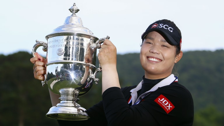 US Open champion and world No.1 Ariya Jutanugarn is showing the way in the women's game.