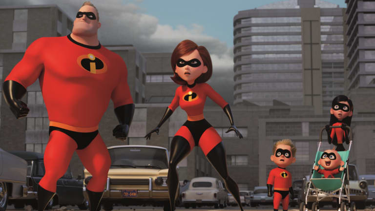 The super family of Incredibles 2.