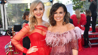 The Project's Carrie Bickmore, left, and Lisa Wilkinson. The Ten show won a Logie for Most Popular Panel or Current Affairs Program.
