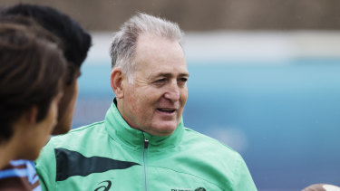 No thanks: David Campese has missed out on the Waratahs head coaching gig.