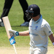 Steve Smith wasn't happy with the umpires as he trudged off the SCG on Tuesday.