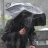 Rain causes flash flooding in Sydney city, but west stays dry