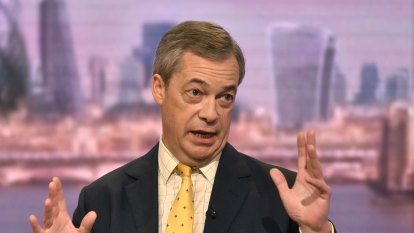 Farage wants tougher stance on China, says Trump needed to 'stop it'