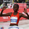 Brigid Kosgei shatters Paula Radcliffe's world marathon record