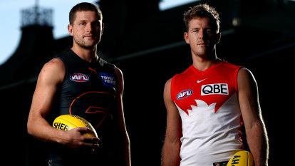 Swans and Giants not interested in war of words before Sydney derby