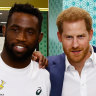 'I can't think of a nation that deserves it more': Prince Harry