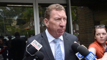 New Cowboys board member and NSW State of Origin team manager Peter Parr.