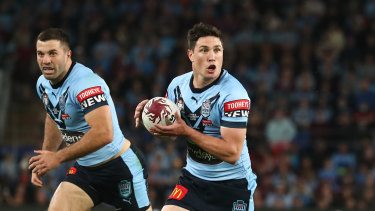 Mitchell Moses struggled to have a big impact on debut for NSW.