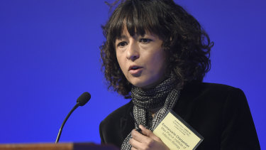 Emmanuelle Charpentier, pictured in 2015,  is one of two recipients of the Nobel Prize in chemistry.