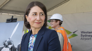 Premier Gladys Berejiklian has refused to been drawn on the threat of minority government.