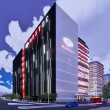 The data centre will be joined to an office tower.