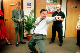 Can you imagine Ricky Gervais' David Brent implementing a coronavirus management plan in The Office?