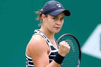 Ashleigh Barty is looking forward to playing in front of Australian crowds.