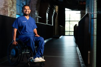 Gold Coast University spinal research doctor Dinesh Palipana is Queensland's Australian of the Year.