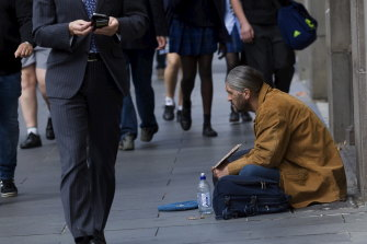 Victoria is experiencing a homelessness crisis.