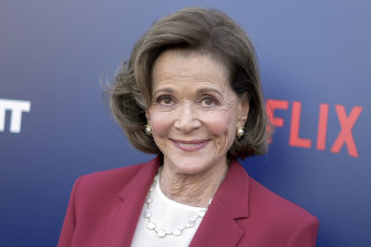 Jessica Walter, pictured attending the premiere of Arrested Development's season five in 2018.