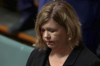 Liberal MP Bridget Archer has broken down in Parliament several times in the past few weeks.