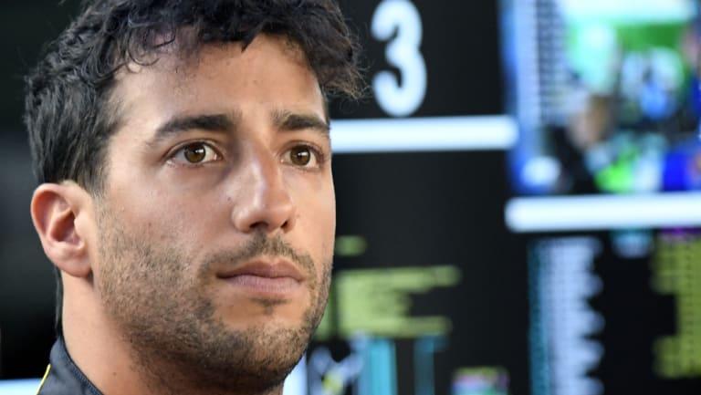 'Frustrating': Daniel Ricciardo's bad run has continued.