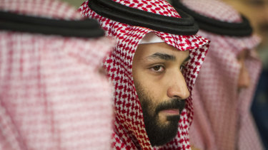 Saudi's crown prince, Mohammed bin Salman, is on a visit to the US.