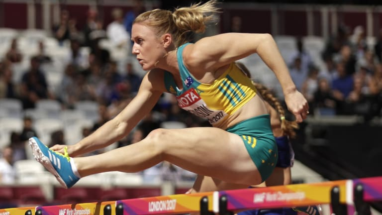Saying goodbye is hard to do: Sally Pearson will wait to the 'last minute'.