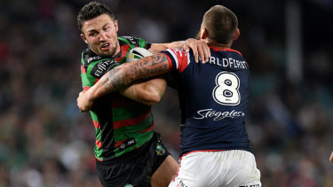 Head to head: South Sydney's opening game of the season will be against the Roosters at the SCG.