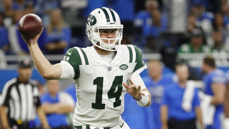 Jets rookie Sam Darnold.