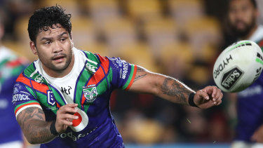 Career in transit: Issac Luke's future in the NRL is uncertain.