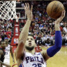 Ben Simmons stars despite flu as 76ers lose
