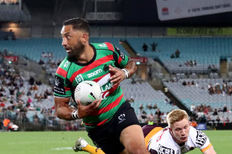 Benji Marshall has impressed the Rabbitohs on and off the field.