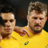 'We probably deserve it': No results, no loss of Wallabies' underdog tag