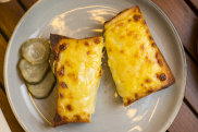 Cheese on toast at Lokall