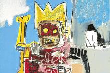 Untitled 1982 by Jean-Michel Basquiat.