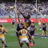 Passion reignites in WA footy fans after delicate derby dance