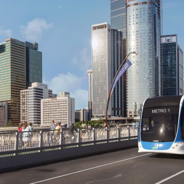 Brisbane City Council's $1.2 billion Metro project aims to reduce congestion and increase public transport speed and access.