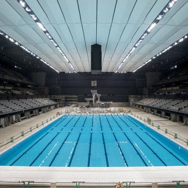 Tokyo Aquatics Centre.