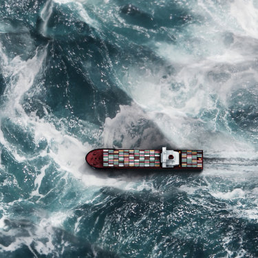 Around 90 per cent of the world's traded goods are transported by sea.