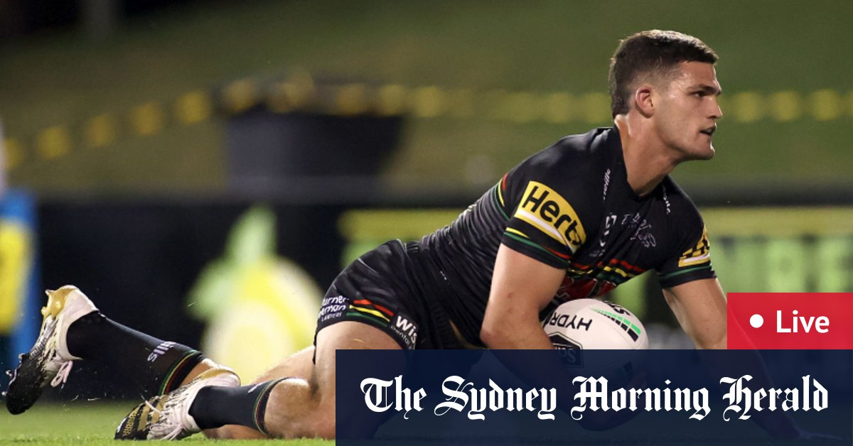 NRL finals 2020 as it happened: Cleary kicks Penrith into preliminary final – The Sydney Morning Herald