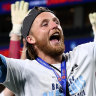 Simply the chest: Grant winner seals historic fifth A-League title for Sydney FC