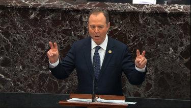 In a passionate speech to the Senate, Democratic congressman Adam Schiff made the case for Donald Trump's removal from office.