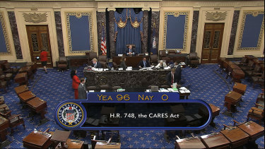 The vote passed with 96 votes for and none against.