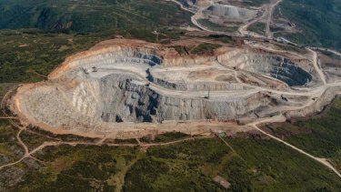 The Red Chris gold mine in Canada.