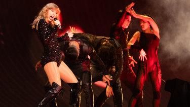 Pop singer Taylor Swift returned to Perth at Optus Stadium in October.