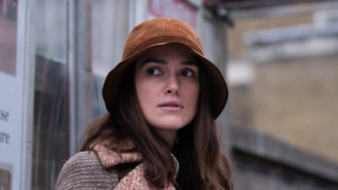 Keira Knightley plays Sally Alexander, a mature-aged student who throws in her lot with a radical women's collective in Misbehaviour.