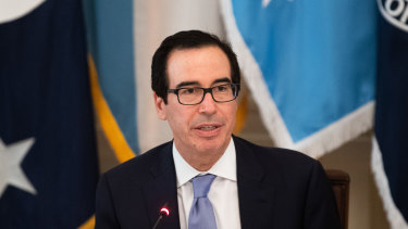 Steven Mnuchin, US Treasury secretary, has played a key role.