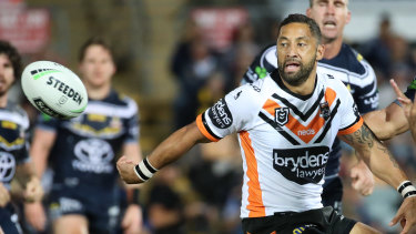 Veteran Wests Tigers five-eighth Benji Marshall.